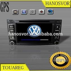 VW Touareg 2 din 7 inch car dvd player