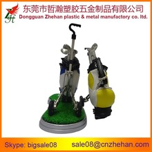 Fashion cheap leather pen holder for golf lover