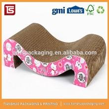 Cat Products M Type Cat Lounge Corrugated Cat Scratcher