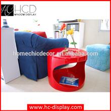 Fiberglass cheap plexiglass side table