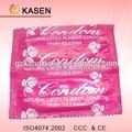 flor preservativo sabor com embalagem retângulo