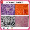 Good quality cast Acrylic sheet Plexiglass marble patterned plastic sheets