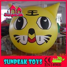 BL-138 Sunpeak Promotion Helium Big Inflatable Cat