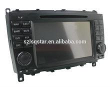 China car dvd factory for Mercedes Benz CLK W209 autoradio dvd central multimedia gps