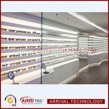sunglasses wooden display cabinet retail store fixtures