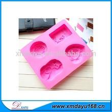 özel şekil silikon meyve sabunu kalıp