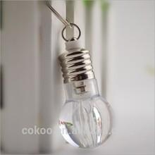 Christmas promotion gift led keychain bulb light