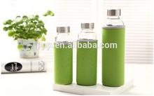 Glass bottle for water,heat-resistant glass water bottle