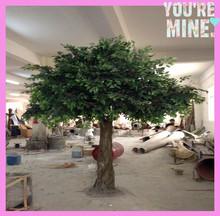 SJWP ficus tree artificial , artificial banyan tree for indoor ,outdoor landscaping