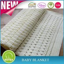 high quality 100% organic Cotton Handmade Crochet Baby Blanket