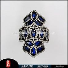 925 sterling silver rings multi gemstone