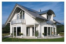 China nice space utilization light Steel Villa,prefabricated vacation house for family