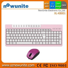 2014 antique mini 2.4g keyboard mouse