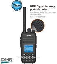tyt GPS Digital+Analog Compatible with Mototrbo radio with LCD NEWEST! TYT dmr two-way mini pocket digital am fm radio MD-380