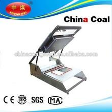 customize HS-300 manual tufu package tray sealing machine