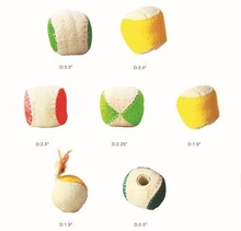 pure natural dog toy ball for dog chew