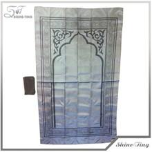 2014 Good design usine vente personnalisé tapis de prière musulmane avec poche