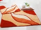 Acrylic custom bath carpet mat/Jacquard Home custom door carpet mat