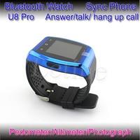 Colorful bluetooth watch cheap price bluetooth watch wrist mobile vibrating wrist watch