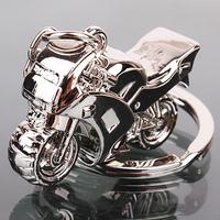 metal custom race cool motorcycle keychain supplier