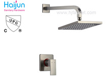 cUPC wall-mounted square shower head (86H15-BN-S)