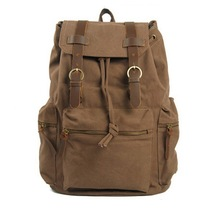 Men's daily canvas backpack