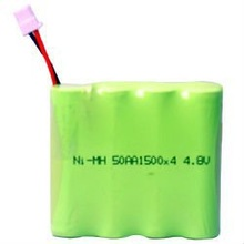 aa 1500mah 4.8v nimh rechargeable battery pack for medical service