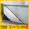 Professional exterior balcony glass railing/stainless steel glass railing design with great price