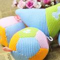 100% algodão engraçado brinquedos para animais de estimação crochet brinquedo do gato controleremoto brinquedo do cão