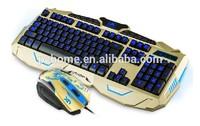 Backlit Keyboard, Gaming Keyboard For Computer, Multi Language Layout, OEM Available