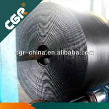 cut edges high abrasion flat rubber belt