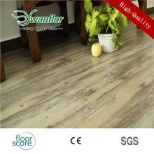 4MM High Gloss Commercial PVC Floor Plank tile vinyl flooring