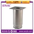 ( s. D63mm) de aço inoxidável quadrado pernas móveis