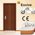 Populares PVC diseño de la puerta para la casa de madera de rumania