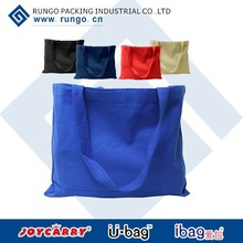 2015 cotton fabric shopping cotton bag for shopper with various colors and style