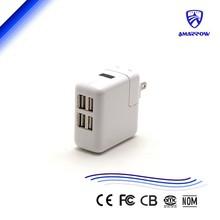 LED display 4 usb port charger for IP 5v 2.4a 4USB Port