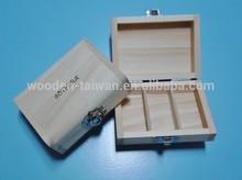 Wooden essential oil box