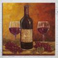 dormitorio de la pared moderna pintura al óleo decorativa de la botella de vino