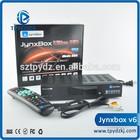 Jynxbox ultra hd v6 FTA(Free To Air)with jb200 and wifi dreambox 800 hd se clone