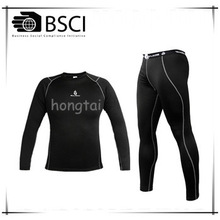 Hongtai Mensrunning tights mens setss set 4 needles SIX threads reflective print