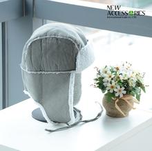 fashion suede earflap hats with berber fleece