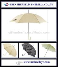 All custom logo design straight umbrella funny gifts
