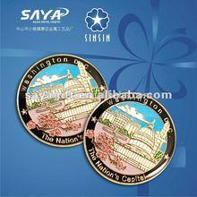 metal lapel pin souvenir