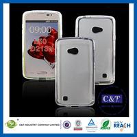 C&T Latest Custom Ultra Slim Flexible Transparent Clear TPU Mobile Phone Case for LG L50