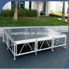 Waterproof&Anti-slip outdoor aluminum modular stage for Event&concert