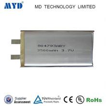 Specialized in lipo battery li-polymer battery 3.7v 3500mah