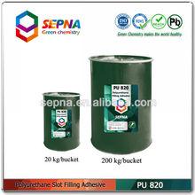 Polyurethane slot filling sealant for joints of airport runway/highway/bridge PU820