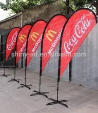 cheap advertising teardrop flags