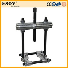 Integrated hydraulic puller set wheel bearing puller in tools