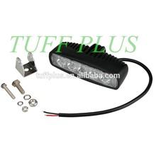 15W slim led working light,flood& spot truck led work light,10-30v white/black two model